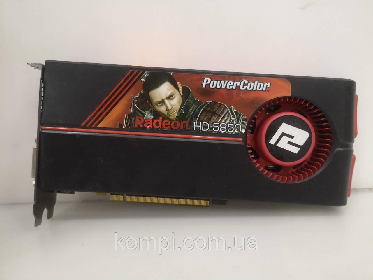 Видеокарта  AMD Radeon HD 5850 1GB  PCI-e