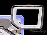 Потолочная люстра с диммером и LED подсветкой S8060/6+2HR LED 3color dimmer, фото 6
