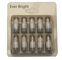 Набор 10 штук Светодиодные Led лампочки HIGH POWER T10 W5W безцокольные 9V-12V в габариты ЛЕД  6000 K белый