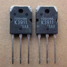Транзистор 2SK3911 20A 600V TO-3P
