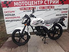Мотоцикл Spark SP150R-11 (белый)