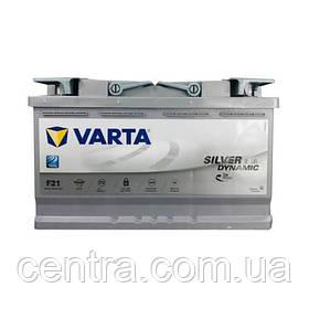 Автомобильный аккумулятор VARTA 6СТ-80 Silver Dynamic AGM F21 580901080