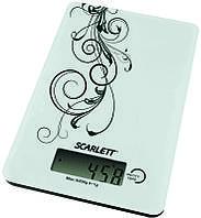SCARLETT Весы кухонные Scarlett SC-1212 (белый с черным)