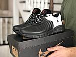 Мужские кроссовки Nike Air Jordan (черно-белые) 9027, фото 2