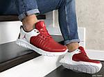Мужские кроссовки Nike Air Jordan (красно-белые) 9029, фото 2