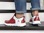 Мужские кроссовки Nike Air Jordan (красно-белые) 9029, фото 3
