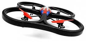 Квадрокоптер WL Toys V333 Cyclone 2 большой на радиоуправлении 24ГГц с камерой SKL17-139810