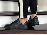 Женские кроссовки Reebok (черные) 9035, фото 3