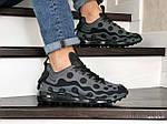 Мужские кроссовки Nike Air Max 720 ISPA (серо-черные) 9043, фото 2