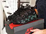 Мужские кроссовки Nike Air Max 720 ISPA (черно-зеленые) 9044, фото 3