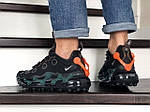 Мужские кроссовки Nike Air Max 720 ISPA (черно-зеленые) 9044, фото 4