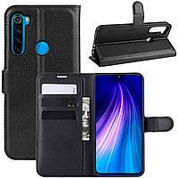 Чохол-книжка Litchie Wallet для Xiaomi Redmi Note 8 Black