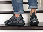 Мужские кроссовки Nike Air Max 720 ISPA (серо-черные) 9043, фото 3