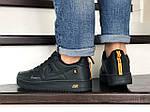 Мужские кроссовки Nike Air Force (черные) 9050, фото 3