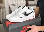 Мужские кроссовки Nike Air Force (белые) 9051, фото 2