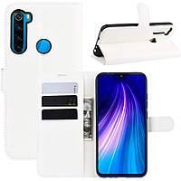 Чохол-книжка Litchie Wallet для Xiaomi Redmi Note 8 White