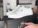 Мужские кроссовки Lacoste (белые) 9053, фото 2