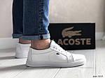 Мужские кроссовки Lacoste (белые) 9053, фото 4
