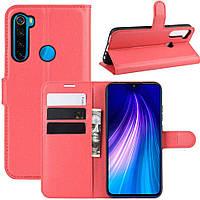 Чохол-книжка Litchie Wallet для Xiaomi Redmi Note 8 Red