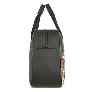 Хозяйственная сумка Wallaby 39х28х12 ткань полиестер на ПВХ основе вставка из гобелена в 270312, фото 2
