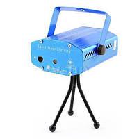 Мини лазерный проектор, внутренний проектор, новогодний лазер (Точки с линиями)! Акция