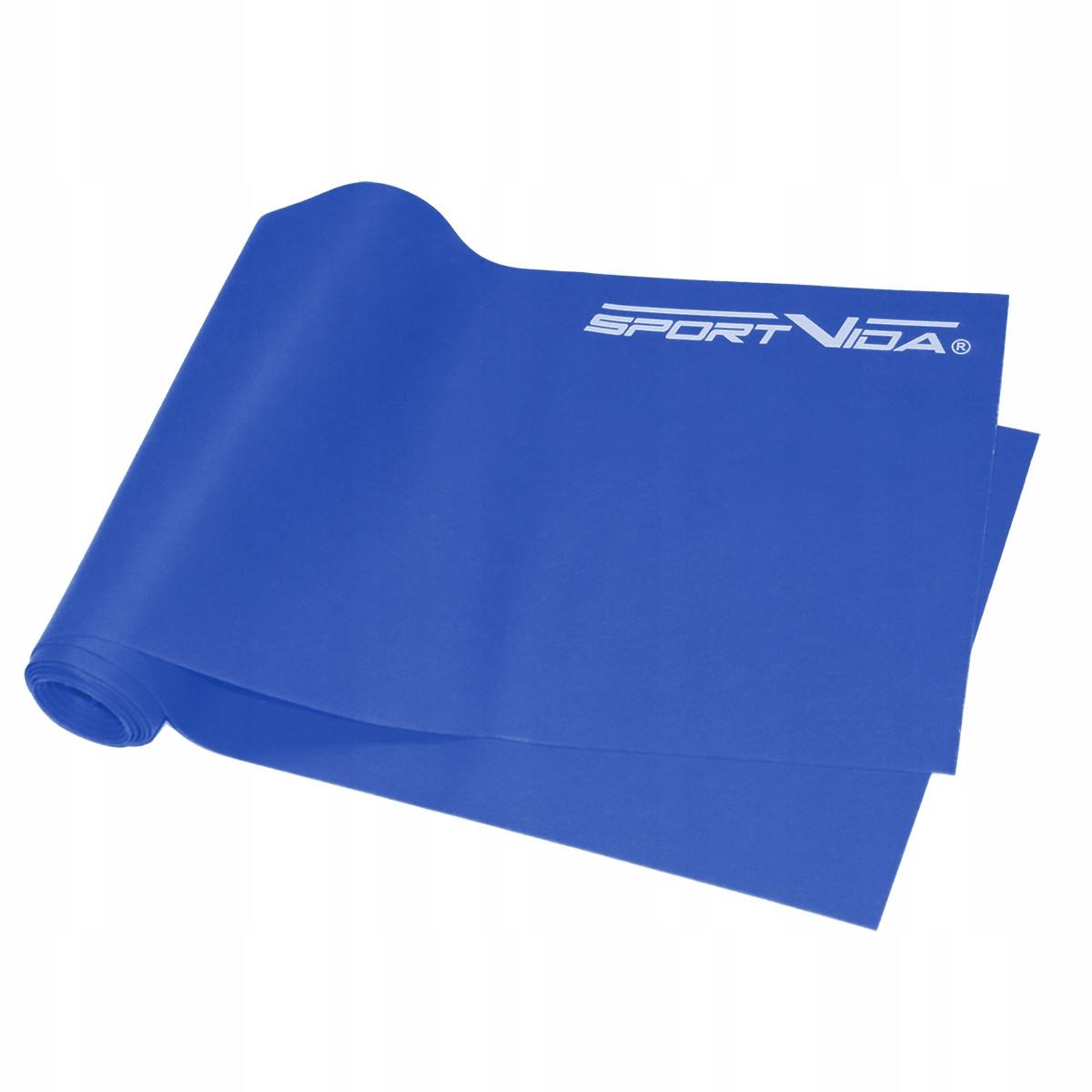 Лента-эспандер для спорта SportVida Flat Stretch Band 200 на 15 см 10-15 кг SV-HK0186 SKL41-227843
