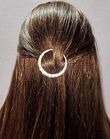 Заколка для волос Месяц со стразами (цвет серебро или золото)