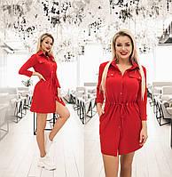 Женское трикотажное  платье.Размеры:42-46.+Цвета, фото 1