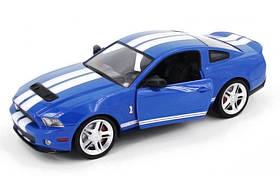 Машинка Meizhi лицензированный Ford GT500 Mustang на радиоуправлении, масштаб 1к14 синий SKL17-139605
