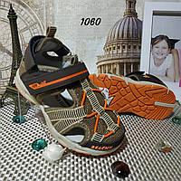 Детские босоножки, сандали для мальчика. Спортивный стиль. Из текстиля.