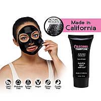 Черная Маска для кожи лица Pilaten против черных точек Сalifornia Сharcoal! Акция
