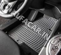 Коврики в салон авто Ford Focus (2) 2004-2011 Передние (люкс) (полики, полiки) килимки Форд Фокус 2