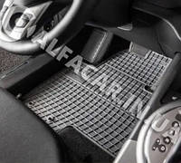 Коврики в салон авто Dacia Sandero 13-( Передние (люкс) (полики, полiки) килимки Дачия Сандеро 13