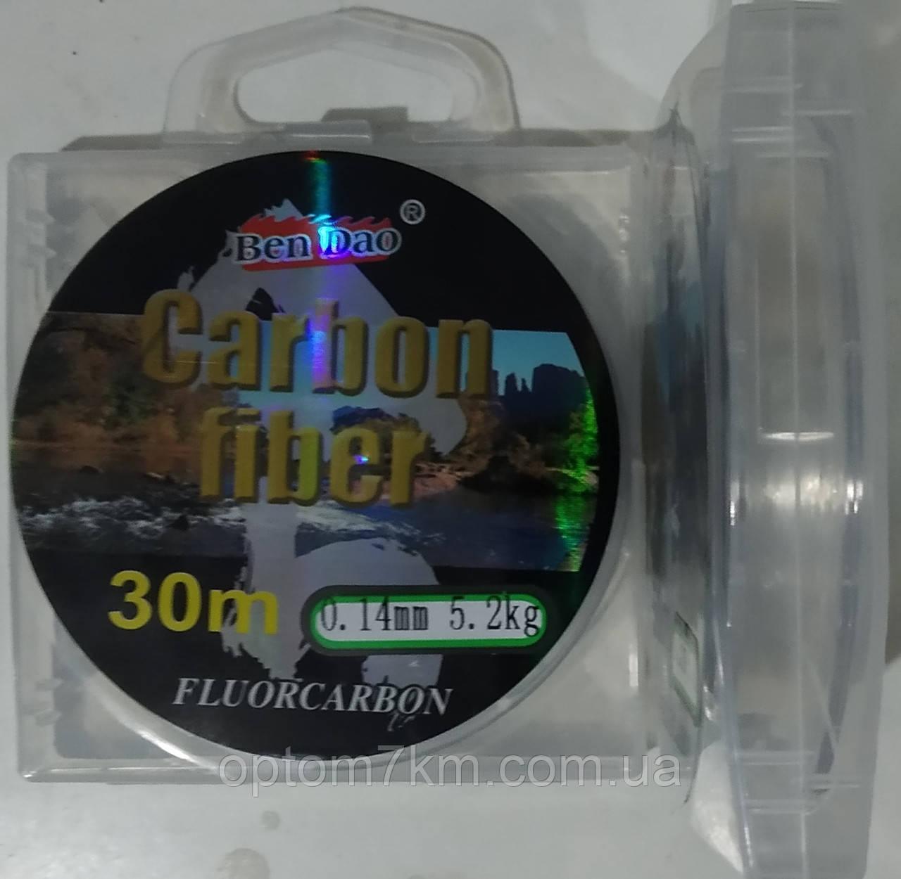 Леска BenDao Carbon fiber 30m