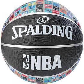Мяч баскетбольный Spalding Nba Team Collection Outdoor Size 7 SKL41-227734