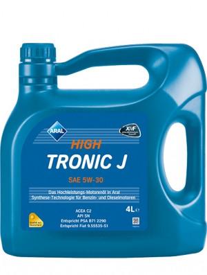 Синтетическое моторное масло Aral HighTronic J 5W-30