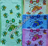 Махровое кухонное полотенце 25х50 Крысята