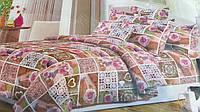 Комплект постельного белья Микрофибра 3Д Двухспальный 335грн