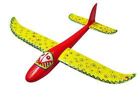 Планер метательный J-Color Hawk 600мм c комплектом красок SKL17-139871