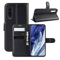 Чехол-книжка Litchie Wallet для Xiaomi Mi 9 Pro / Mi 9 Pro 5G Black