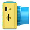 Дитячий цифровий фотоапарат Smart Kids Camera V7 синій   Дитяча цифрова камера, фото 4