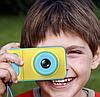 Дитячий цифровий фотоапарат Smart Kids Camera V7 синій   Дитяча цифрова камера, фото 7