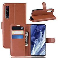 Чехол-книжка Litchie Wallet для Xiaomi Mi 9 Pro / Mi 9 Pro 5G Brown