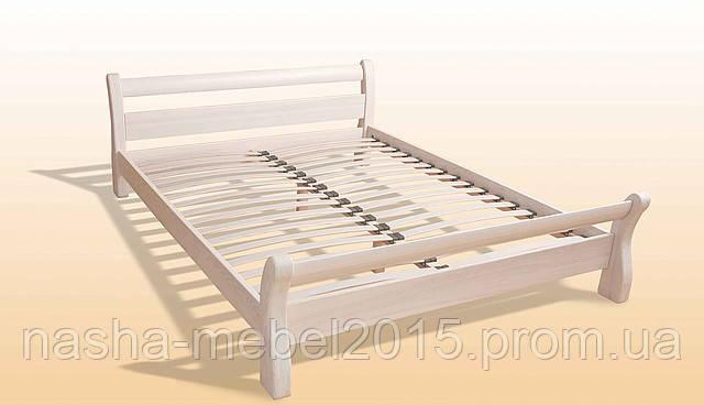 Односпальная Кровать деревянная Монреаль 1,2 ясень