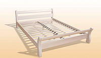 Односпальная Кровать деревянная Монреаль 1,2 ясень, фото 1
