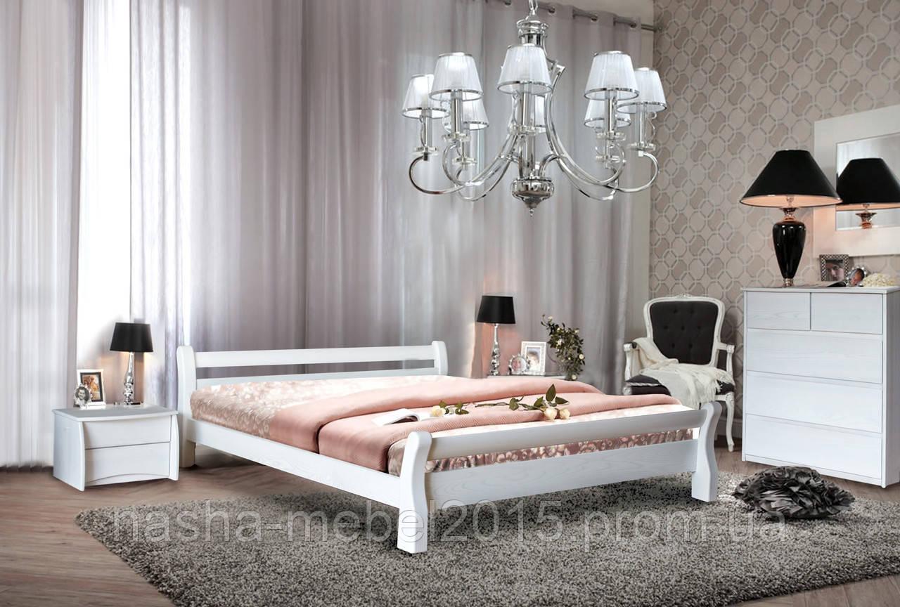 Полуторная Деревянная Кровать Монреаль 1,4 ясень