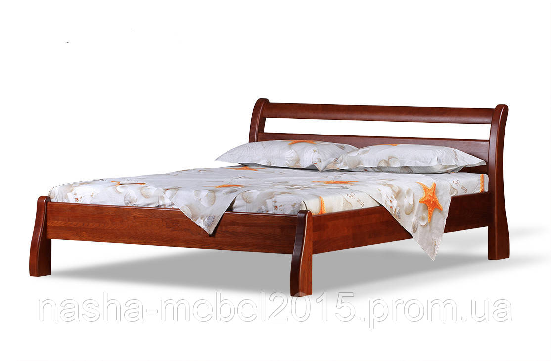 Односпальная Кровать деревянная Монреаль 1,2ольха