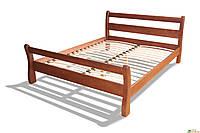 Полуторная Кровать деревянная Монреаль 1,4 ольха, фото 1