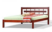 Полуторная Кровать деревянная Альмерия ольха 1,4м, фото 1