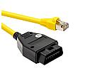 BMW ENET (Ethernet к OBD) адаптер E-SYS ICOM кодирования для BMW серии F ENET кабель для BMW. 5 штук CD, фото 2